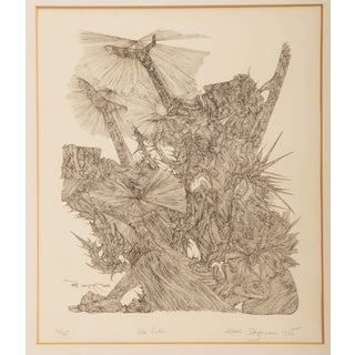 "Ernst Degasperi Etching ""Zum Licht"" For Sale"