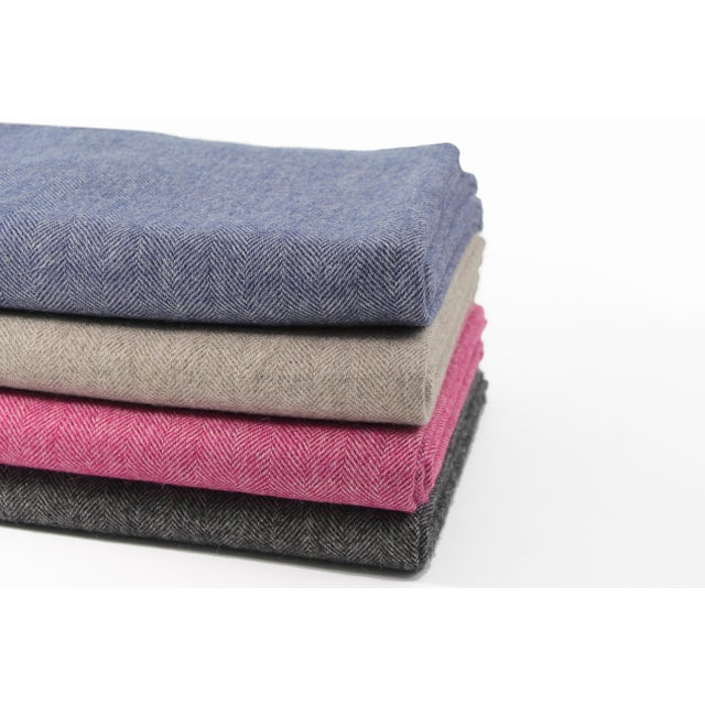 The Madison Throw is a Classic, but basic doesn't have to be boring. This soft and lightweight 100% Baby Alpaca throw...