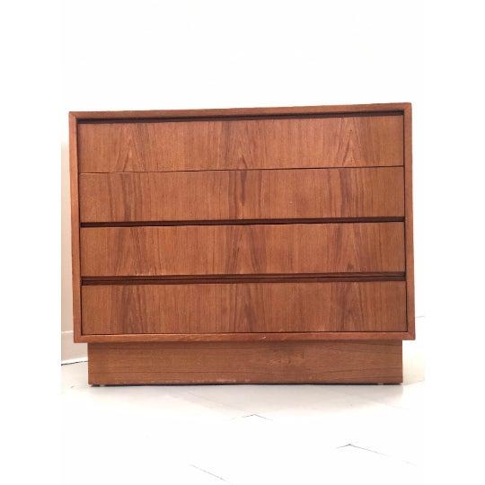 Vintage Danish Teak Dresser For Sale - Image 4 of 5