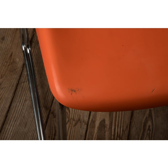 "Metal 1976 Vintage Gerd Lange ""Swing Chairs"" - Set of 6 For Sale - Image 7 of 13"