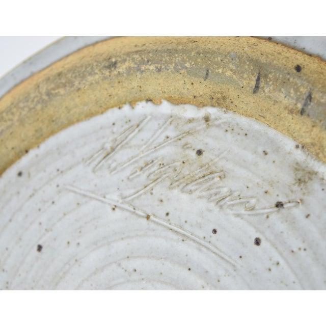 Vintage Alan Vigland Mid Century Modern Studio Pottery Vase For Sale - Image 10 of 11