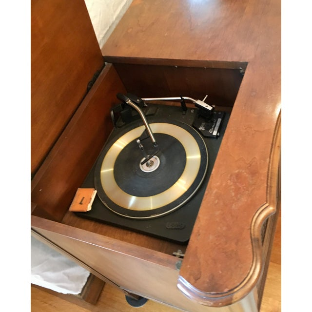 Credenza With Built-In Record Player & Stereo For Sale In Boston - Image 6 of 12
