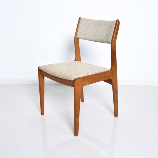 Benny Linden Mid-Century Danish Modern Teak Dining Chairs - Set of 4 For Sale - Image 4 of 11