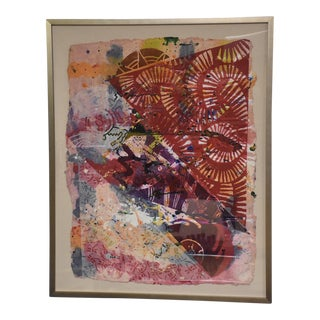 William Weege Abstract Collage For Sale