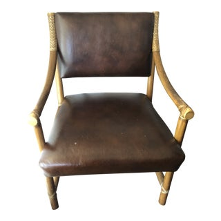 McGuire Bamboo Dining Chair For Sale