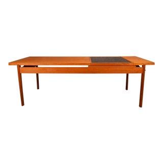 Danish Mid Century Modern Tove and Edvard Kindt-Larsen Teak Coffee Table For Sale