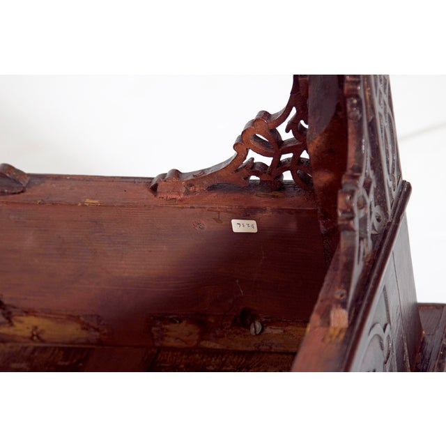 Mid-18th Century Early George III Mahogany Card Table For Sale - Image 10 of 13