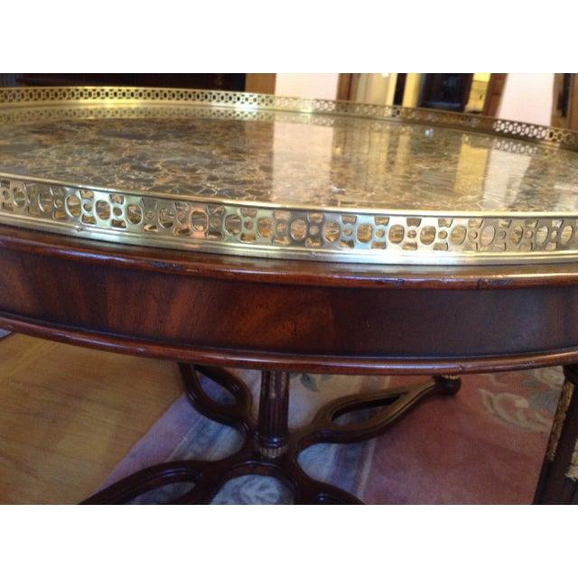 Maitland-Smith Circular Coffee Table - Image 4 of 5