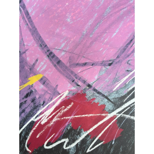 1984 Mixed Media Abstract Figure - Image 10 of 10