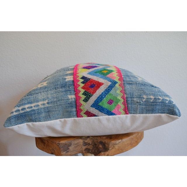 African Indigo Cinta Pillow - Image 4 of 4