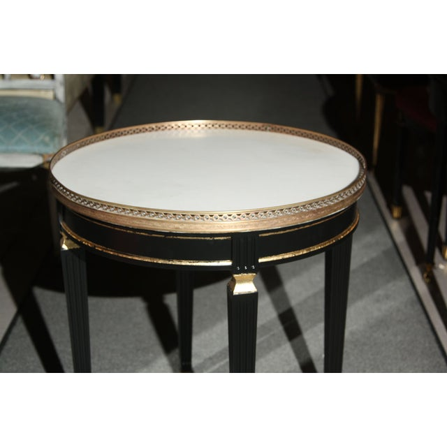 French Maison Jansen Gueridon End Table For Sale - Image 3 of 5
