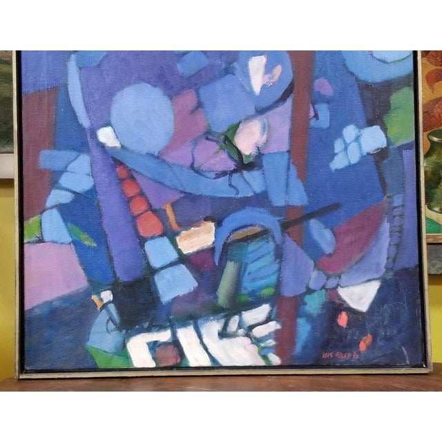 Lois Foley Abstract Painting For Sale - Image 4 of 6