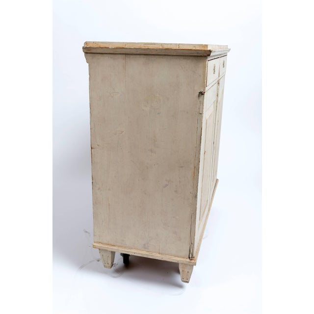 White Early 19th Century Gustavian Sideboard For Sale - Image 8 of 9