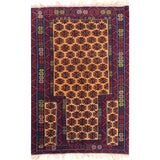 Image of Tribal Handwoven Afghani Design Area Rug - 2.10x4.3 For Sale