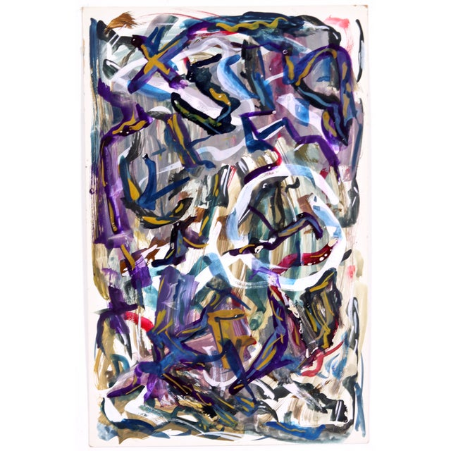 Abstract Development 1959 Painting - Image 1 of 3