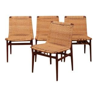 Thorald Madsens Teak Side Chairs - Set of 4