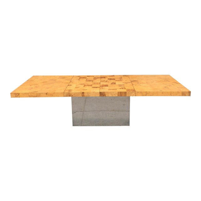 1970s Mid-Century Modern Milo Baughman for Thayer Coggin Dining Table For Sale - Image 10 of 10