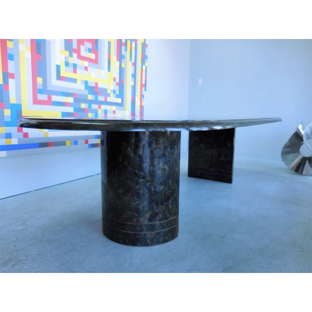 Maitland Smith Penn Shell And Brass Dining Or Conference Table - Conference table miami