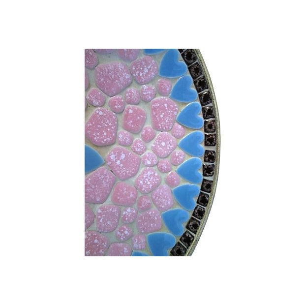 Midcentury Mosaic Tile Shallow Bowl For Sale - Image 5 of 7