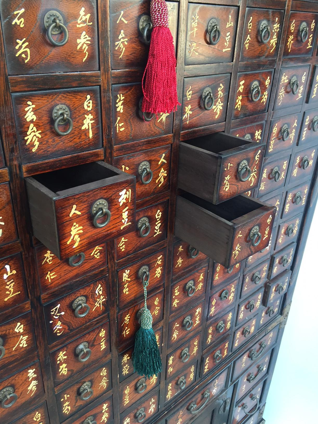 Exceptionnel Gorgeous Vintage Chinese Medicine Cabinet, Asian Apothecary Cabinet,  Chinese Multi Drawer Storage Cabinet,