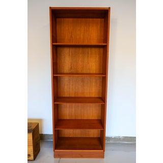 1960s Vintage Danish Teak Wood Bookcase Preview