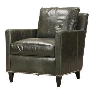 Erdos + Ko Home Parson Top-Grain Leather Chair