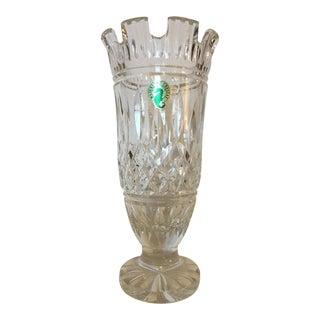 Waterford Lismore Castle Crystal Vase For Sale