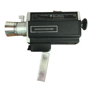 Vintage Super 8 Movie Camera Bell & Howell For Sale
