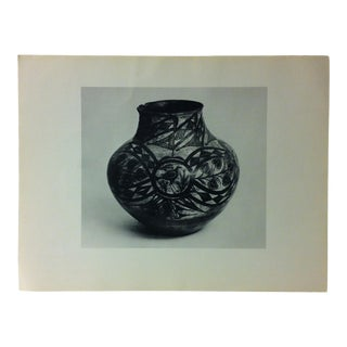 """Circa 1950 """"Pueblo of Tsia Pottery"""" Indian Arts Fund Collection Print For Sale"""