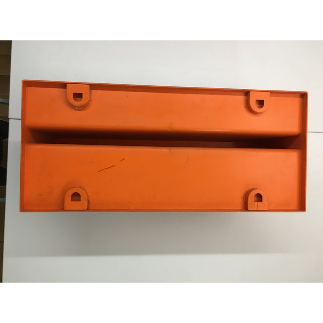 1970s 1970s Vintage Wall-Mounted Plastic Shelves by Marcello Siard for Kartell - a Pair For Sale - Image 5 of 13