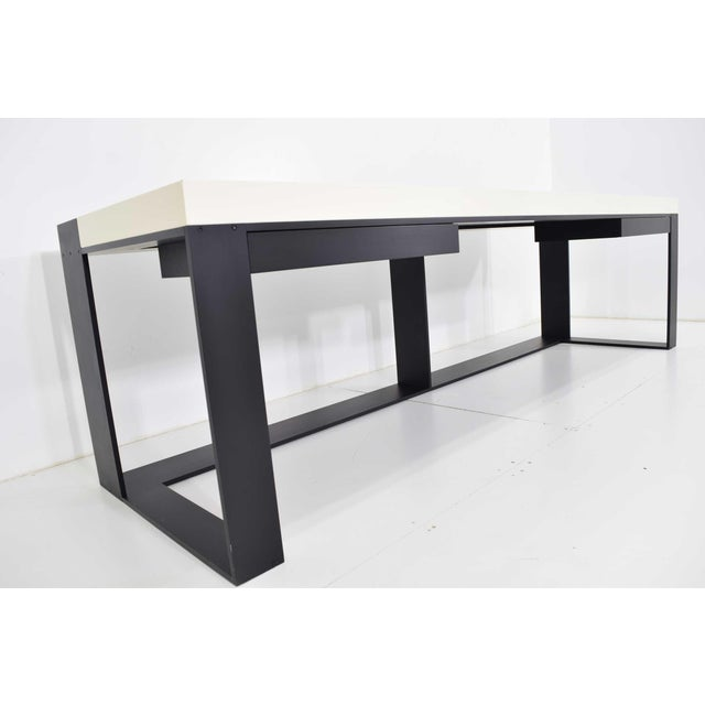 2010s Christian Liaigre Connectable Leather Desk For Sale - Image 5 of 12