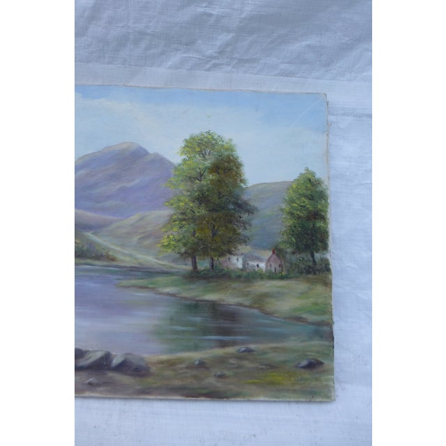 Mid-Century Modern Landscape Painting by M.F. Musgrave - Image 4 of 5