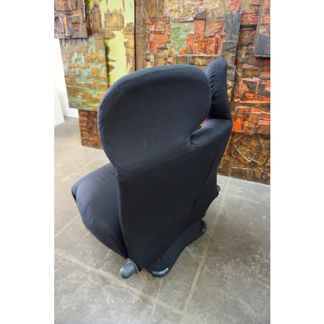 "1980s Toshiyuki Kita ""Wink"" Convertible Lounge Chair 1980's For Sale - Image 5 of 9"