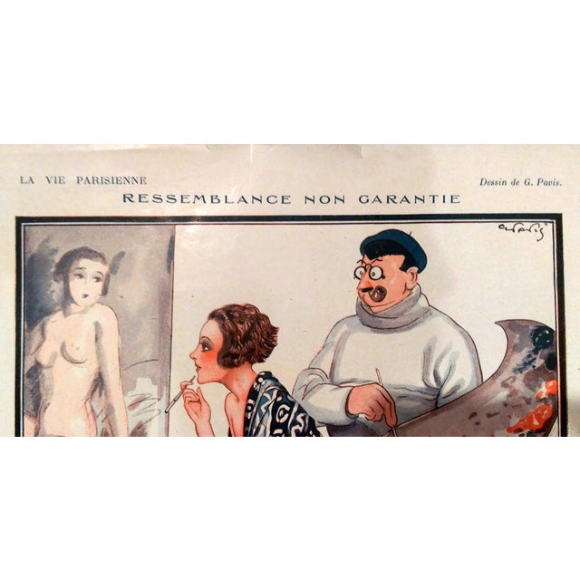 "1926 La Vie Parisienne ""Posing Pretty"" Prints - Pair - Image 8 of 10"