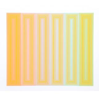 "Richard Anuszkiewicz ""Sun Keyed"" Serigraph For Sale"