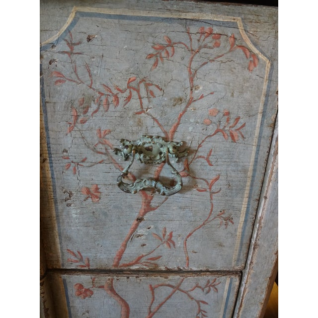 19th Century Italian Painted Commode For Sale - Image 4 of 11