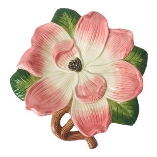 Fitz & Floyd Bountiful Blossoms Decorative Plate For Sale