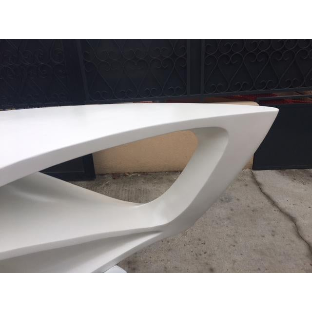 Mid-Century Modern Awesome Boomerang Shaped Coffee Table For Sale - Image 3 of 5