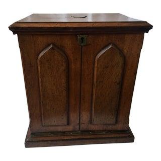 Mahogany Travel File Desk Box