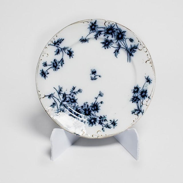 Mid 19th Century FLOW BLUE CHINA For Sale - Image 5 of 6