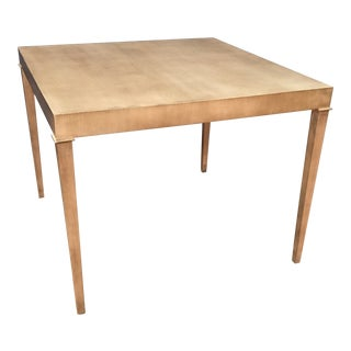Custom Sherrill Square Dining Table For Sale