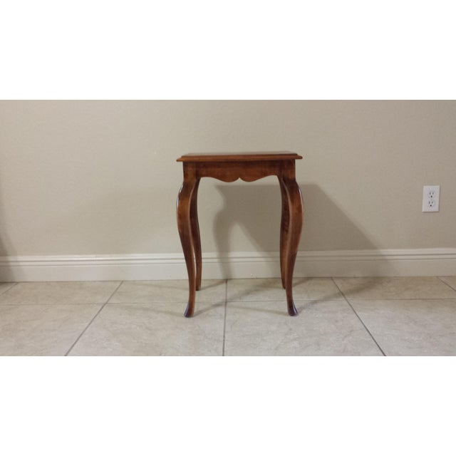 Ethan Allen French Country End Table - Image 3 of 7