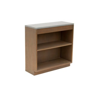 Modern Grey Bookshelf by Sligh Furniture For Sale