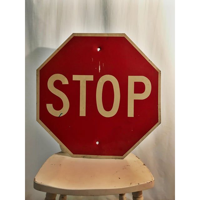 Industrial Stop Road Sign - Image 2 of 6
