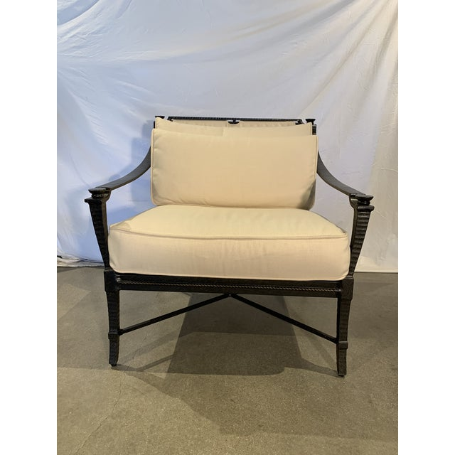 Century Furniture Century Furniture Andalusia Royal Outdoor Lounge Chair For Sale - Image 4 of 4