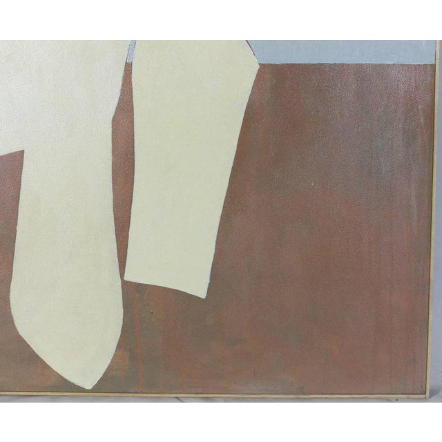 David Bell Large Acrylic on Canvas Abstract Painting - Image 7 of 11
