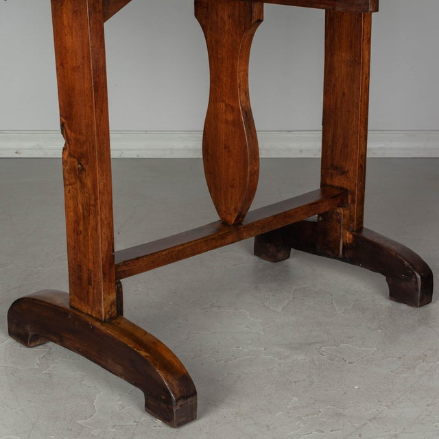 19th C. French Wine Tasting Table or Tilt-Top Table For Sale - Image 11 of 12