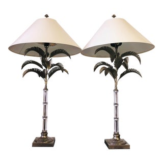 Vintage 1960s Hollywood Regency Lamps - a Pair For Sale