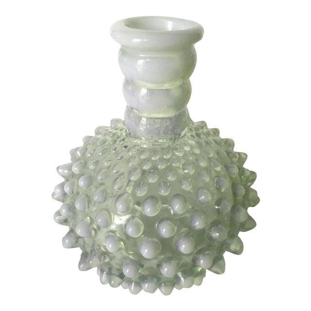 Vintage Hobnail Glass Vase Chairish