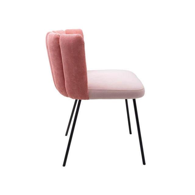 Italian Pink Gaia Chair by Monica Armani, Italy For Sale - Image 3 of 6